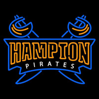 Hampton Pirates Secondary 2002 2006 Logo NCAA Neon Sign Neon Sign