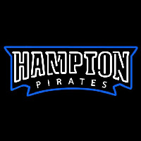 Hampton Pirates Wordmark 2007 Pres Logo NCAA Neon Sign Neon Sign