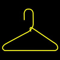 Hanger Yellow Neon Sign
