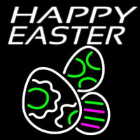 Happy Easter Egg 4 Neon Sign