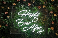 Happy Ever After X Neon Sign