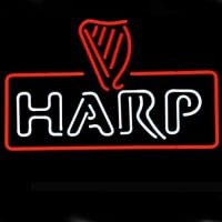 Harp Lager Guinness Pub Neon Sign