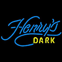 Henrys Dark Beer Sign Neon Sign