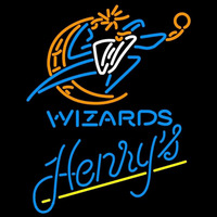 Henrys Washington Wizards NBA Beer Sign Neon Sign
