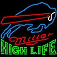 High Life Buffalo Bills NFL Neon Sign Neon Sign