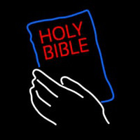 Holy Bible Neon Sign