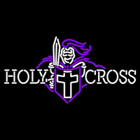 Holy Cross Crusaders Primary 1999 Pres Logo NCAA Neon Sign Neon Sign