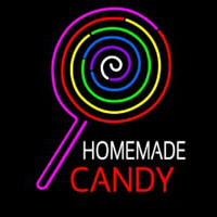 Homemade Candy Neon Sign