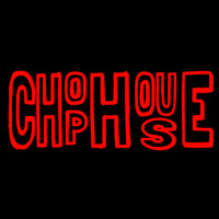 Horizontal Red Chophouse Neon Sign