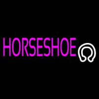Horseshoe With Logo Neon Sign
