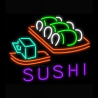 Hot Sushi Neon Sign