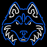 Houston Baptist Huskies Neon Sign Neon Sign