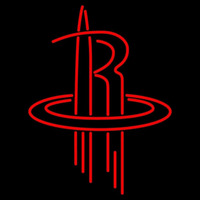Houston Rockets Alternate 2003 04 Pres Logo NBA Neon Sign Neon Sign