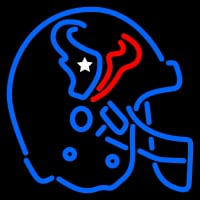 Houston Texans Helmet  Pres Logo NFL Neon Sign Neon Sign