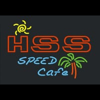 Hss Speed Cafe Neon Sign