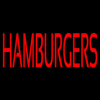 Humburgers Neon Sign