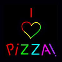 I Love Pizza Neon Sign