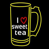 I Love Sweet Tea Neon Sign