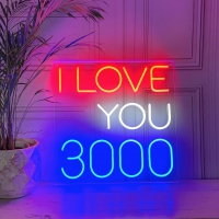 I Love You 3000 Neon Sign