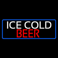 Ice Cold Beer Neon Sign