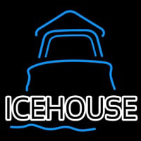 Ice House Day Light House Beer Sign Neon Sign