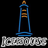 Ice House Light House Beer Sign Neon Sign
