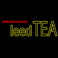 Iced Tea Neon Sign