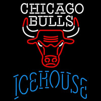 Icehouse Chicago Bulls NBA Beer Sign Neon Sign