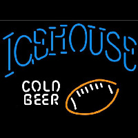 Icehouse Football Cold Beer Sign Neon Sign