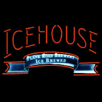 Icehouse Plank Road Brewery Red Beer Sign Neon Sign