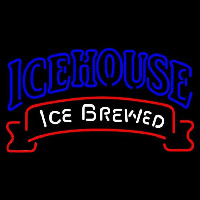 Icehouse Red Ribbon Beer Sign Neon Sign