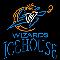 Icehouse Washington Wizards NBA Beer Sign Neon Sign