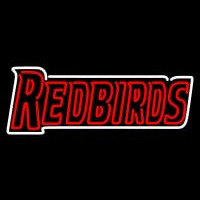 Illinois State Redbirds Wordmark Pres Logo NCAA Neon Sign Neon Sign