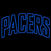 Indiana Pacers Wordmark 2005 06 Pres Logo NBA Neon Sign Neon Sign