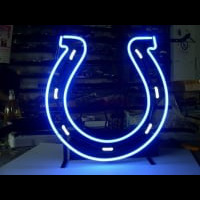 Indianapolis Colts Neon Sign Neon Sign