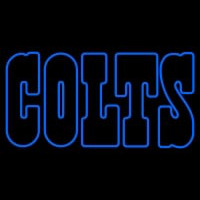 Indianapolis Colts Wordmark   Logo NFL Neon Sign Neon Sign