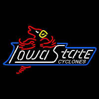 Iowa State Cyclones Wordmark 1995 2007 Logo NCAA Neon Sign Neon Sign