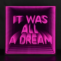 It Was All A Dream 3D Infinity LED Neon Sign