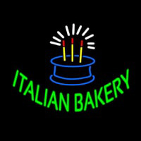 Italian Bakery Neon Sign