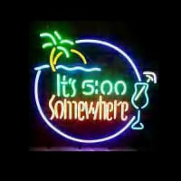 Its 500 Somewhere Neon Sign