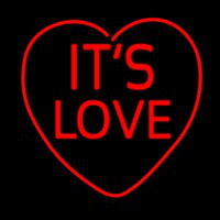 Its Love Neon Sign