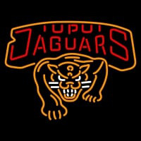 Iupui Jaguars Primary Logo NCAA Neon Sign Neon Sign