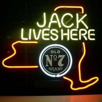 Jack Daniels Jack Lives New York Whiskey Neon Sign