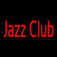 Jazz Club In Red Neon Sign