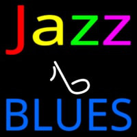 Jazz Music Note Blues Neon Sign