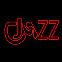 Jazz Red Colored Neon Sign