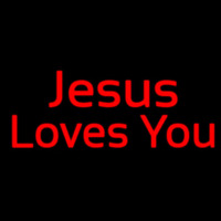 Jesus Loves You Neon Sign