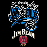 Jim Beam Orlando Magic NBA Beer Sign Neon Sign
