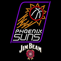 Jim Beam Phoenix Suns NBA Beer Sign Neon Sign