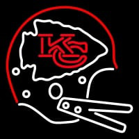 Kansas City Chiefs Helmet   Logo NFL Neon Sign Neon Sign